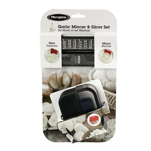 Microplane Garlic Mince & Slice Set_48048