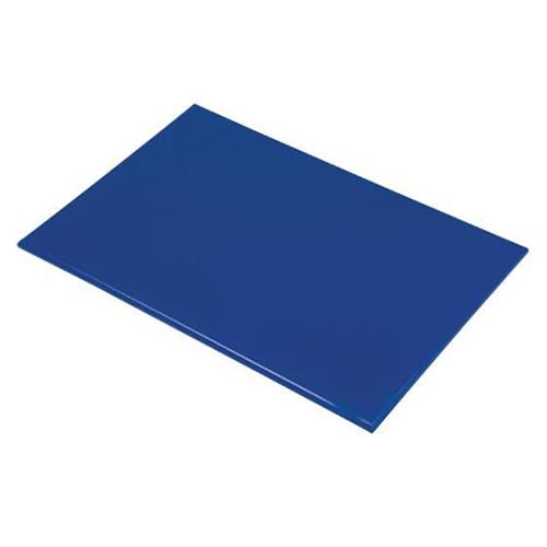 Chopping Board HDPE NSF Certified 12 x 18 x 1 Blue