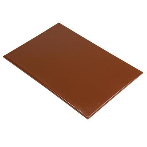 Chopping Board HDPE NSF Certified 12 x 18 x 1 Brown