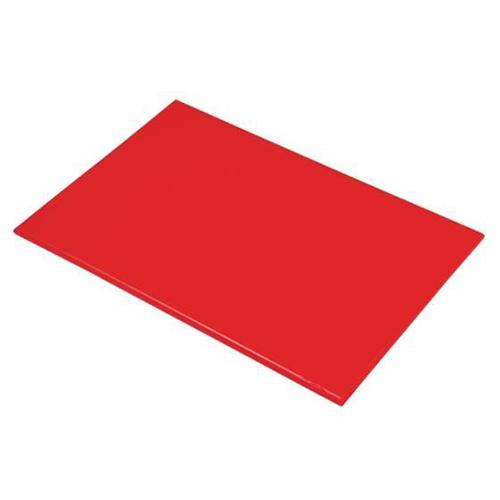 Chopping Board HDPE NSF Certified 12 x 18 x 1 Red