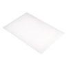 Chopping Board HDPE NSF Certified 12 x 18 x 1 White