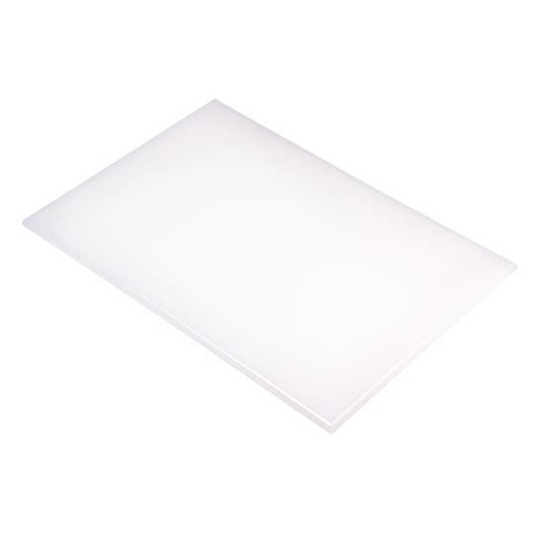 Chopping Board HDPE NSF Certified 12 x 18 x 1 White