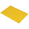 Chopping Board HDPE NSF Certified 12 x 18 x 1_Yellow