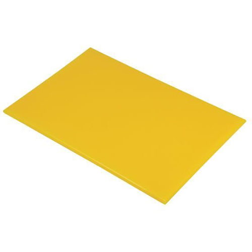 Chopping Board HDPE NSF Certified 12 x 18 x 1_Yellow
