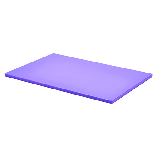 Chopping Board HDPE NSF Certified 12 x 18 x 1 Purple