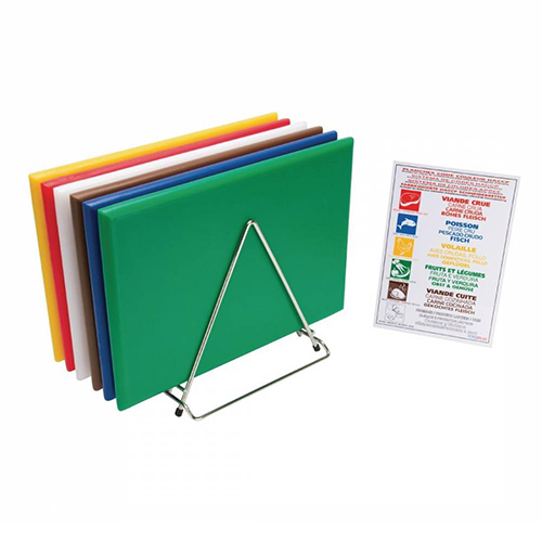 Chopping Board HDPE NSF Certified 12 x 18 x 1 Grey
