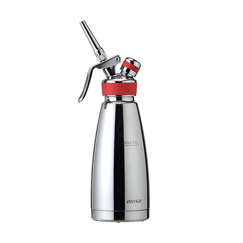 MOSA Thermo Cream Whipper SS 0.5 L