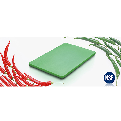 Chopping Board HDPE NSF Certified 12 x 18 x 1 Green
