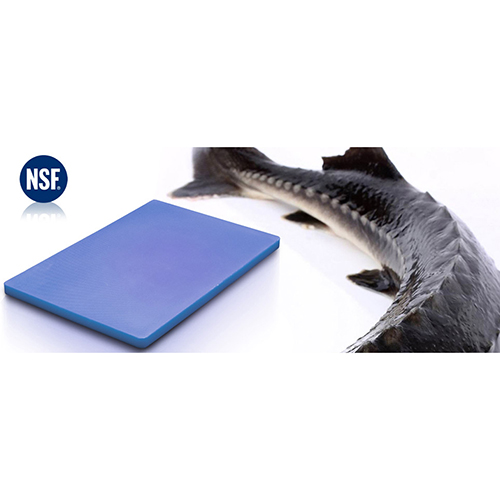 Chopping Board HDPE NSF Certified 12 x 18 x 1 Blue