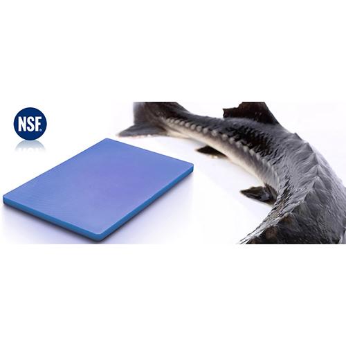 Chopping Board HDPE NSF Certified 32.5 x 53 x 2cm_Blue