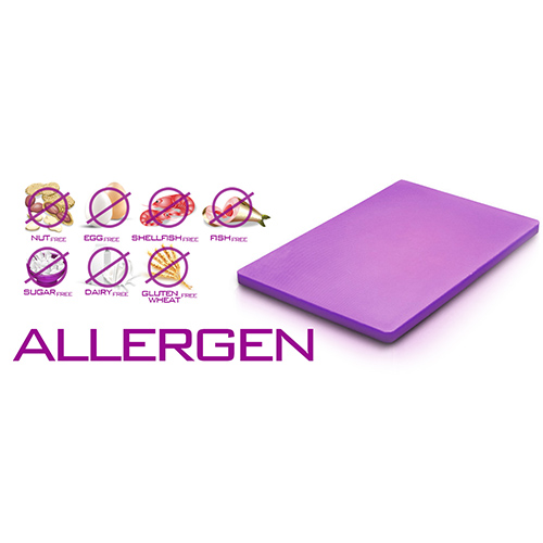 Chopping Board HDPE NSF Certified 12 x 18 x 1 Purple