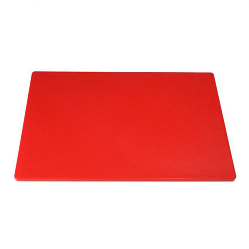 Chopping Board HDPE NSF Certified 32.5 x 53 x 2cm_Red