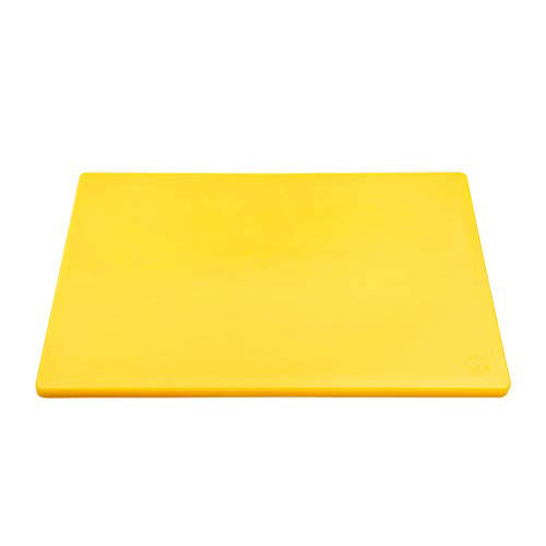 Chopping Board HDPE NSF Certified 32.5 x 53 x 2cm_Yellow