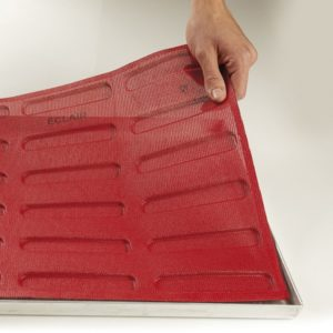 Pavoni FORMASIL micro perforated silicone pad 600x400 ECL20 ÉCLAIR 20i