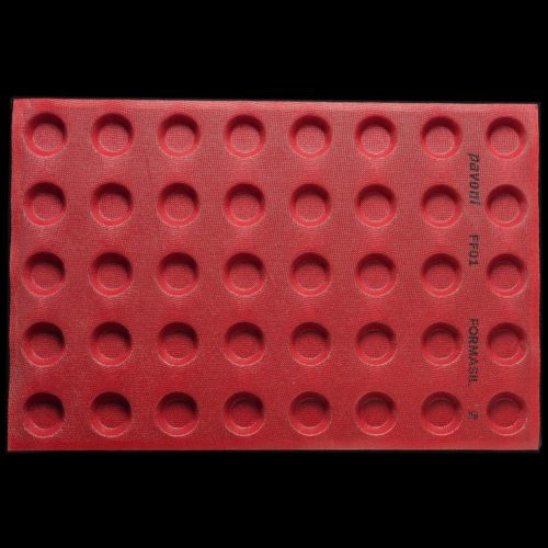Pavoni FORMASIL micro perforated silicone mould 600×400 FF01 ROUND 22