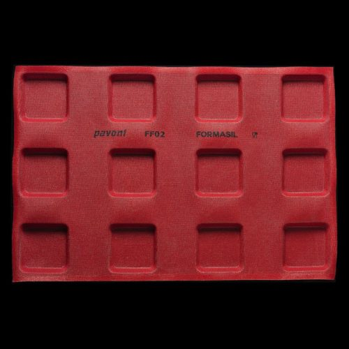 Pavoni FORMASIL micro perforated silicone mould 600x400 FF02 SQUARE 127