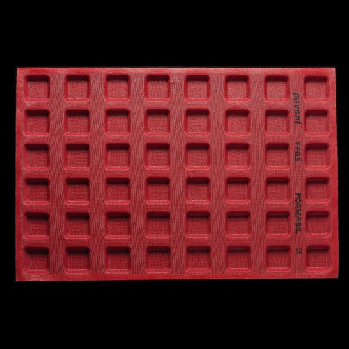 Pavoni FORMASIL micro perforated silicone mould 600×400 FF03 SQUARE 27