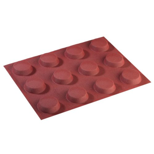 Pavoni FORMASIL micro perforated silicone mould 400×300 FF4308S ROUND 57