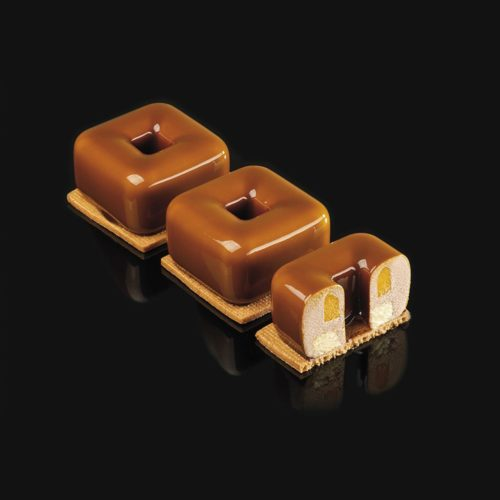 Pavoni 3D Pavoflex silicone mould 400×300 PX4361S TULUM 90