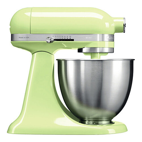 KitchenAid Artisan Mini Stand Mixer 3.3L Honey Dew (5KSM3311XBHW)