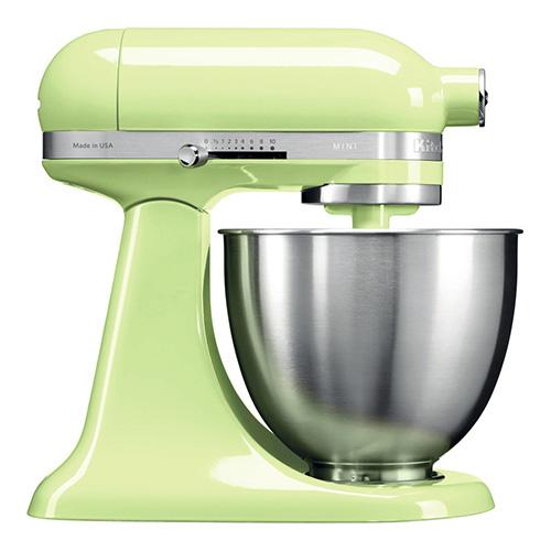 KitchenAid Artisan Mini Stand Mixer 3.3L Honey Dew (5KSM3311XBHW)