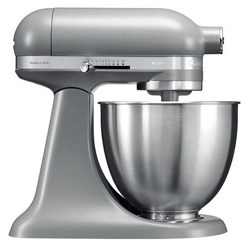 KitchenAid Artisan Mini Stand Mixer 3.3L Matte Grey (5KSM3311XBFG)