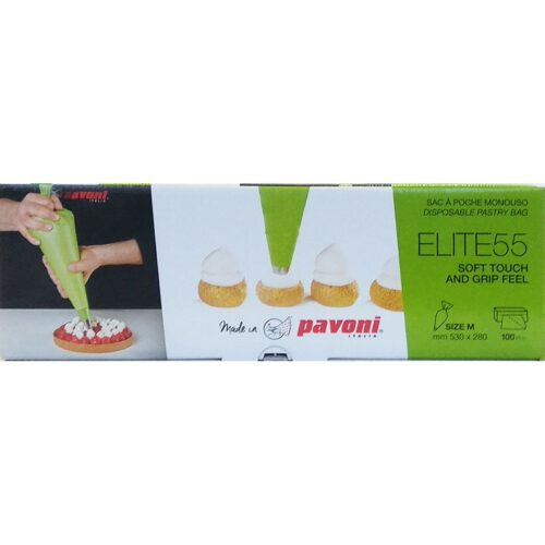 Pavoni Pastry Bag 530x280mm 100pc/Box ELITE 55
