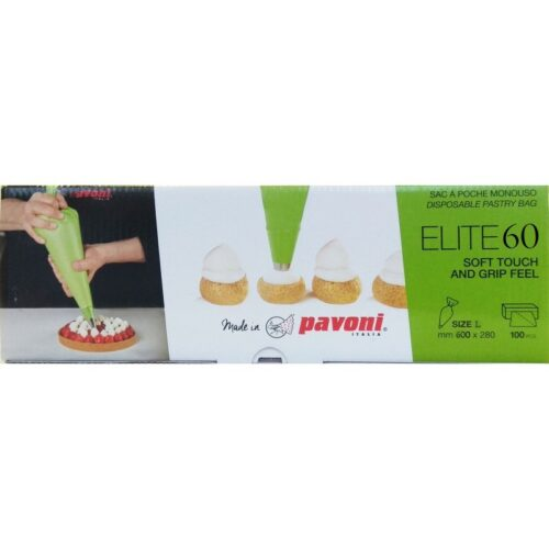 Pavoni Pastry Bag 600x280mm 100pc/Box ELITE 60