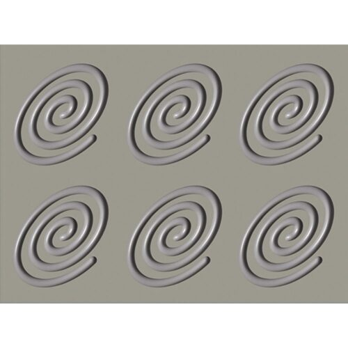 Pavoni GOURMAND silicone mould 400x300 GG010S SPIRALE OVAL 28