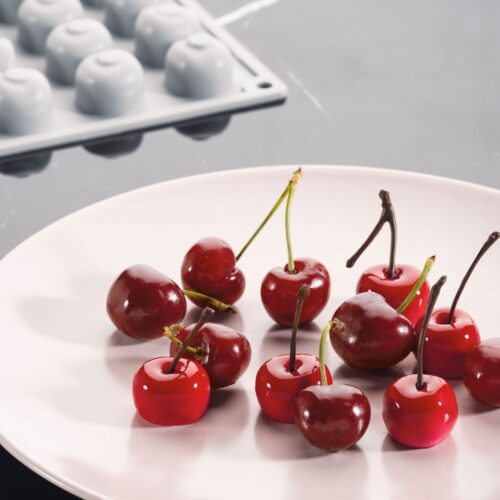 Pavoni GOURMAND silicone mould 300x175 GG016S CHERRY 08