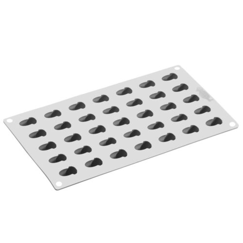 Pavoni GOURMAND silicone mould 300x175 GG026S NUT 06