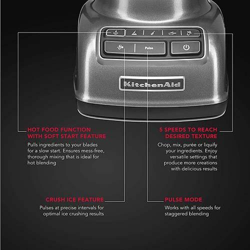KitchenAid 5-Speed Stand Blender Graphite (5KSB1585DQG)