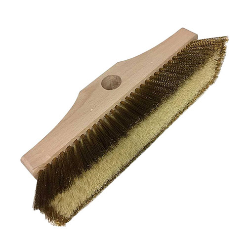 Pavoni Wood and Brass large brush 300 mm SP2