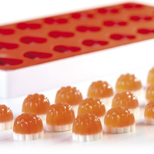 Pavoni Silicone Jelly moulds TG1002 SEMISPHERE