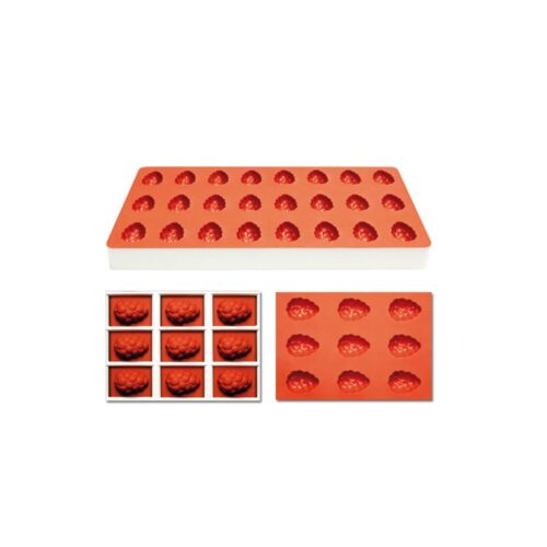 Pavoni Silicone Jelly moulds TG1005 GRAPEFRUIT