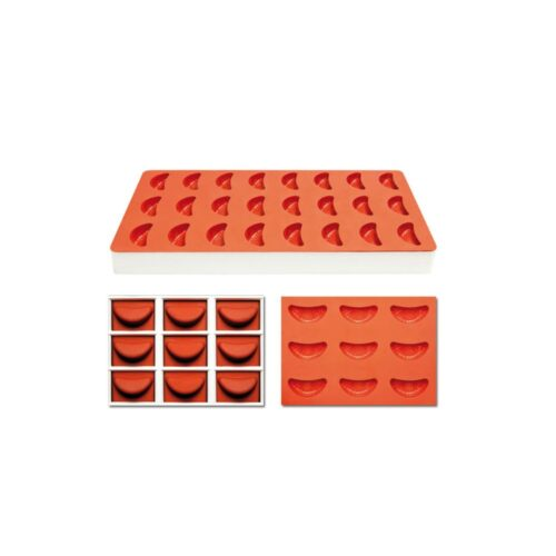 Pavoni Silicone Jelly moulds TG1008 ORANGE