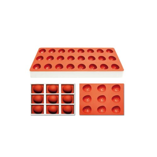 Pavoni Silicone Jelly moulds TG1012 STRAWBERRY