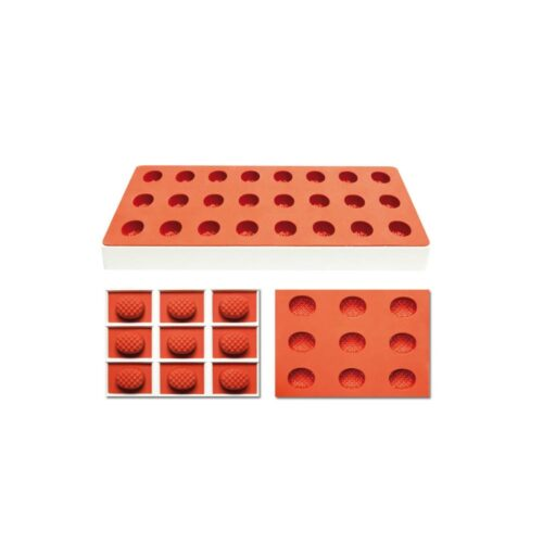 Pavoni Silicone Jelly moulds TG1027 PINEAPPLE