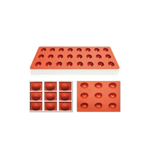 Pavoni Silicone Jelly moulds TG1028 PEACH