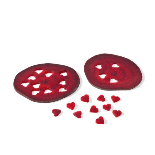 Triangle Confetti Cutter Set, 2 pc Red