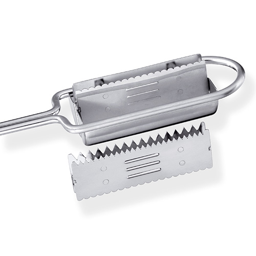 Triangle Fish scaler SS
