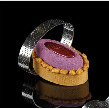 Pavoni micro perforated SS Band XF12 OVAL