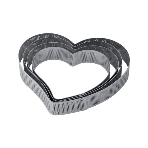 Pavoni micro perforated SS Band XF26 HEART