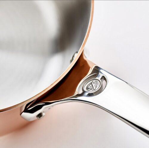 DeBuyer 6206.16 Saucepan Copper - 2mm Thick Prima Matera Ind Ø 16_1