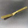 Plating Spatula SS 20cm Gold