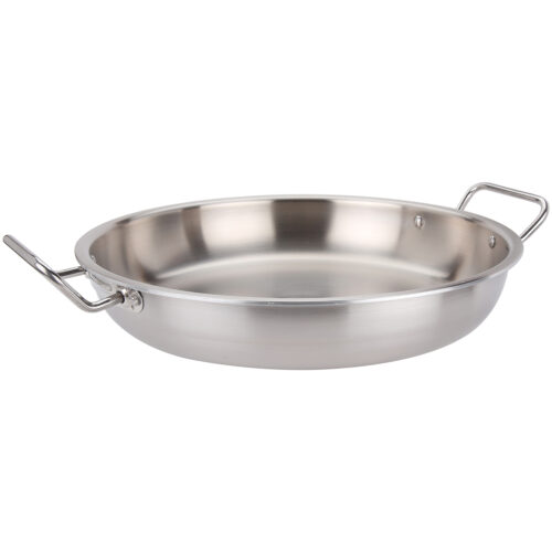 Avon Stainless Steel Paella Pan Tri Ply Induction Compatible