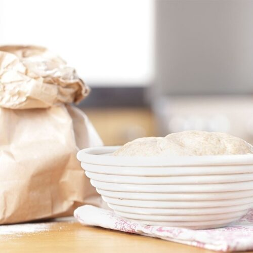 Basket Bread Proofing RD 17x8cmH