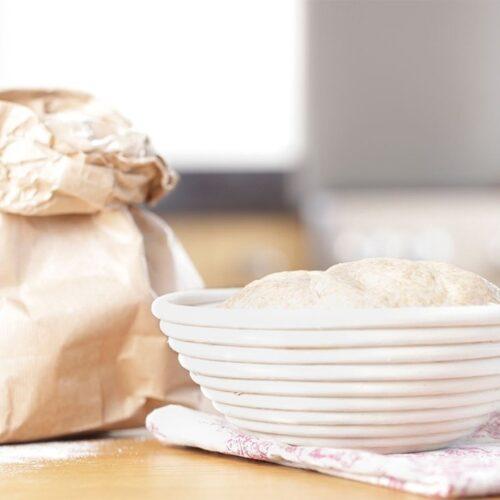 Basket Bread Proofing RD 25x8cmH