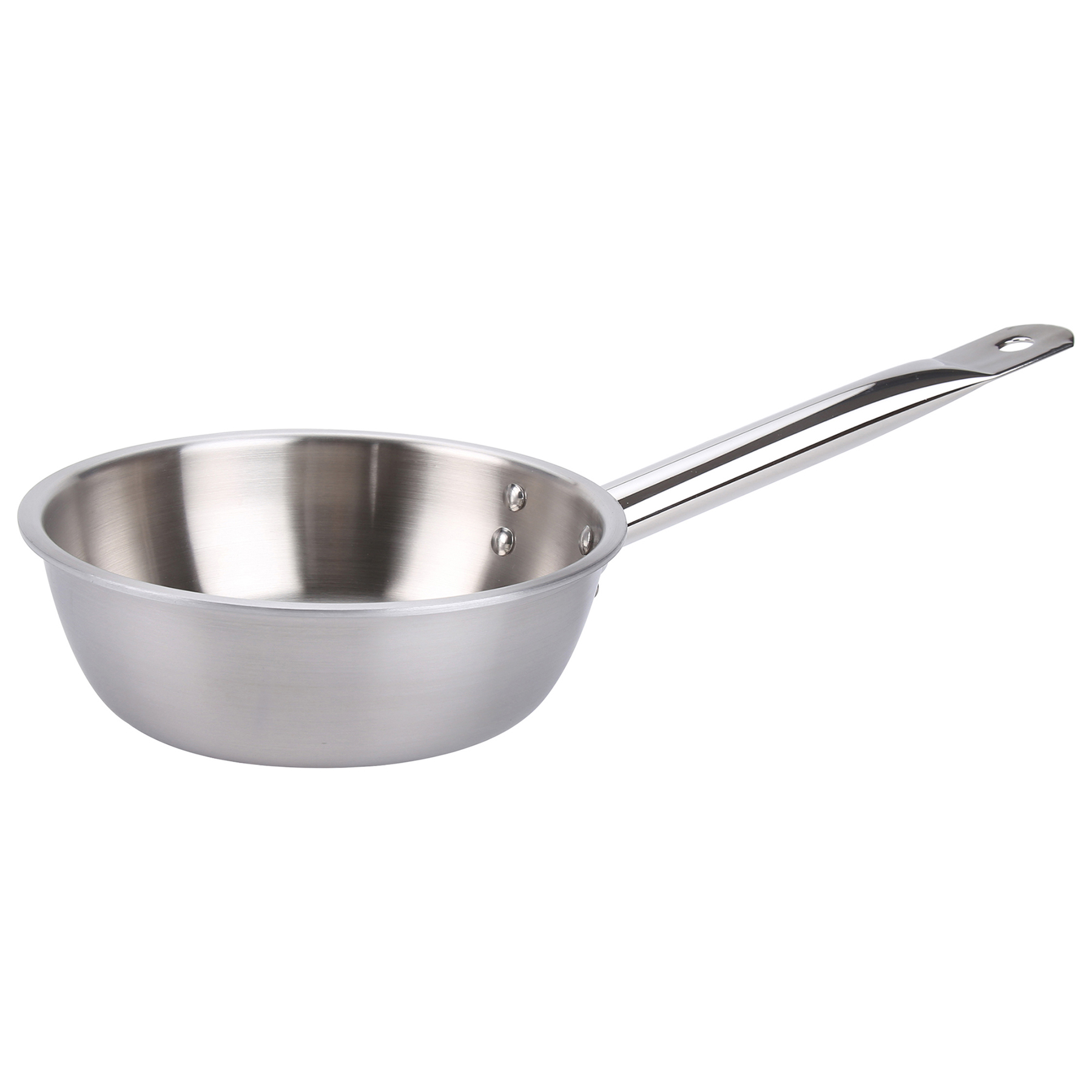 Avon Stainless Steel Saucier/Chef Pan Tri Ply Induction Compatible