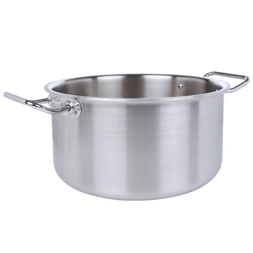 Avon Stainless Steel Deep Height Casserole Tri Ply Induction Compatible